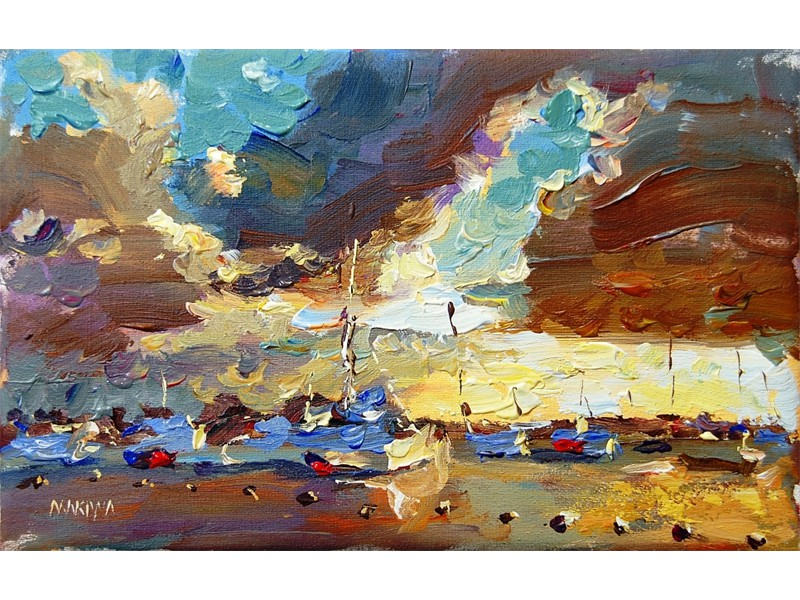 Pereybere Sunset 30x40cm SOLD